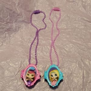 Doll necklaces for girls